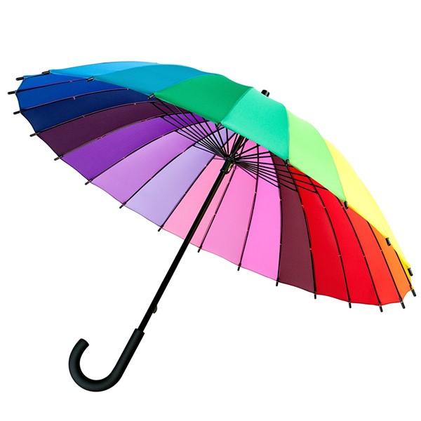 """Зонт-трость спектр """"Радуга"""" - фото 5214"""