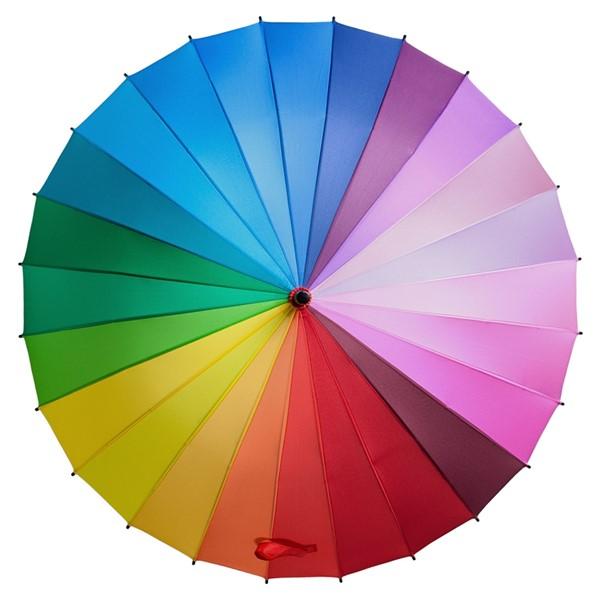 """Зонт-трость спектр """"Радуга"""" - фото 5217"""