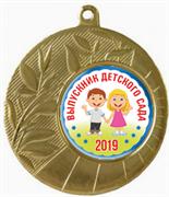 """Медаль """"Выпускник в Детском саду 2019"""""""