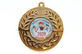 """Медаль """"Выпускник начальной школы"""" 2021"""