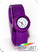 Slap on watch MINI - фиолетовые