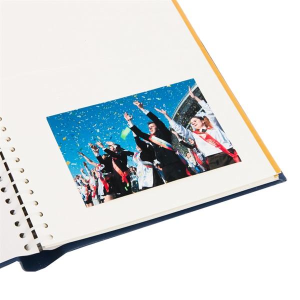 """Фотоальбом """"Выпускной класс"""", экокожа, 20 магнитных листов - фото 198338"""