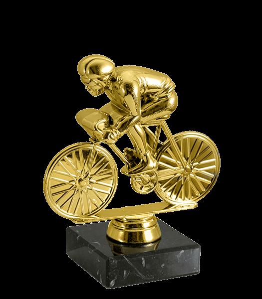Статуэтка Велоспорт на мраморной подставке - фото 234003