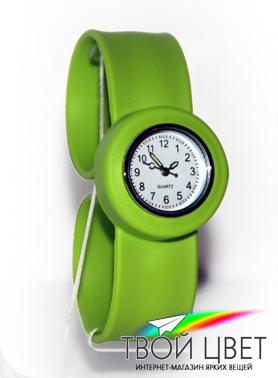 Slap on watch MINI - зеленые