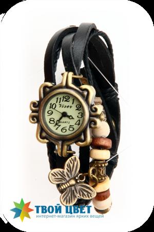Винтажные часы - черные