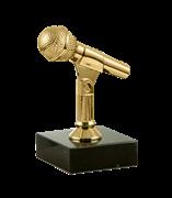 "Статуэтка ""Микрофон"" на мраморной подставке"