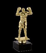 Статуэтка Бокс на мраморной подставке