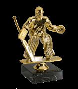 Статуэтка Хоккей на мраморной подставке